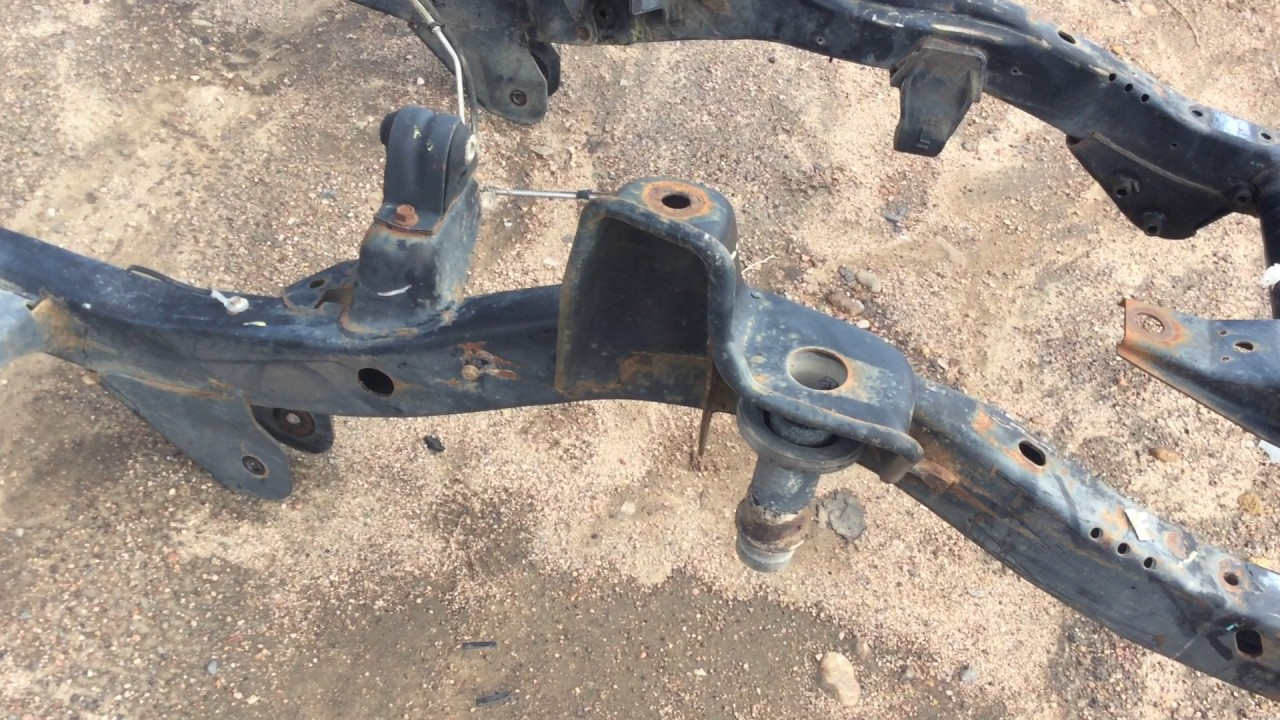 97 02 jeep wrangler tj 2 5l 4 cyl factory oem frame california no rust straight 210000003733 [ 1280 x 720 Pixel ]