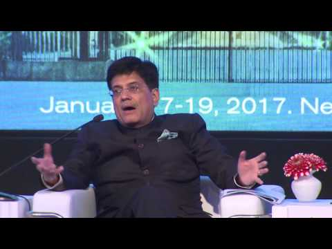 Raisina 2017 | Piyush Goyal in conversation with Sunjoy Joshi