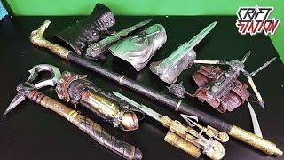 мОЯ КОЛЛЕКЦИЯ СКРЫТЫХ КЛИНКОВ ИЗ ИГРЫ Assassin's Creed Кредо убийцы