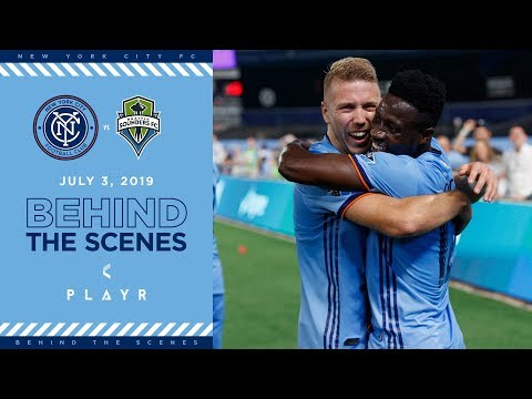 BEHIND THE SCENES | NYCFC vs. Seattle | 07.03.19