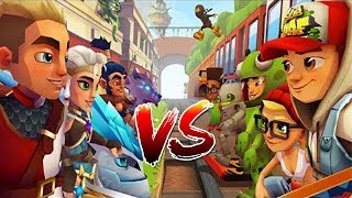 Blades of Brim vs Subway Surfers