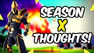 Fortnite Season 10 Patch Notes And Thoughts!