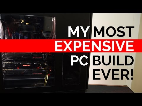 $4500 Overkill X99 Build feat. i7-6950x, 2x GTX 1080's, and a GTX 1070