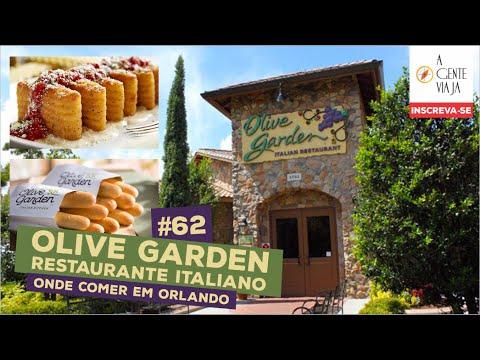 Olive Garden Restaurante Italiano Onde Comer Em Orlando Youtube