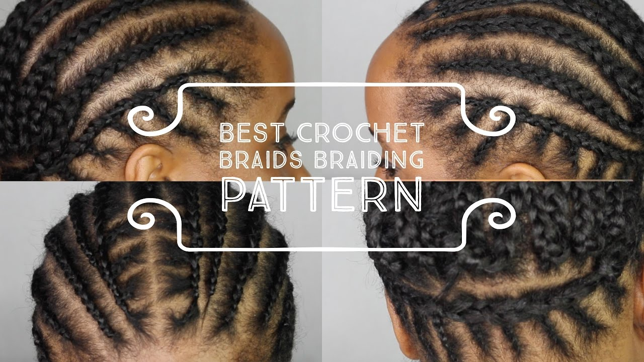 Best Cornrow Braiding Pattern To Get Your Crochet Box Braids Twists