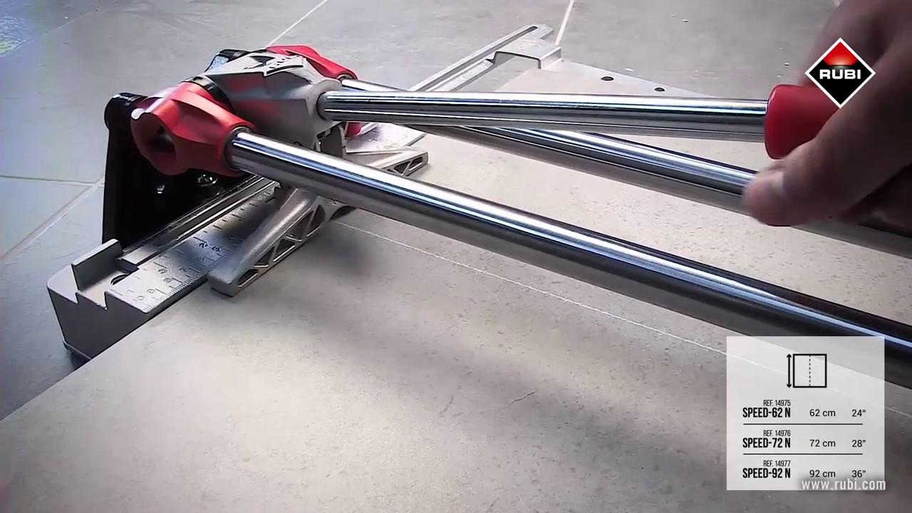 Rubi Speed N Manual Tile Cutter Youtube