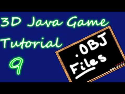 OpenGL 3D Game Tutorial 9: OBJ File Format