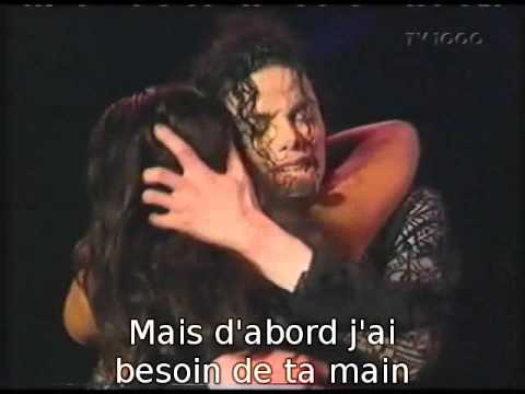 Michael Jackson - (1995) You Are Not Alone (Live 1997) (Sous Titres Fr)