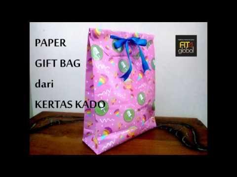 Paper Gift Bag dari Kertas Kado | #Proses #CRCChannel