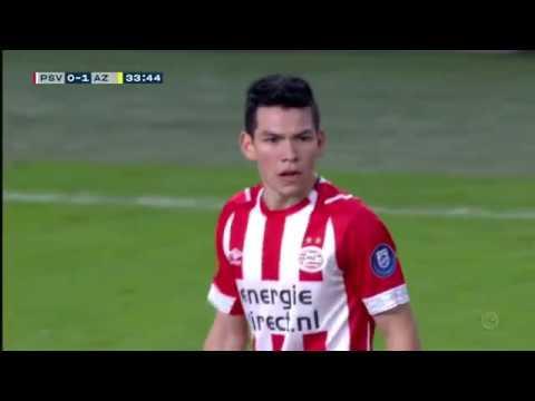 Hirving Chucky Lozano vs AZ Alkmaar   HD 720p   Eredivisie   22/12/18
