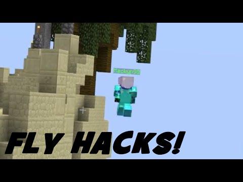 Minecraft: SKYWARS HACKER COMPILATION #2