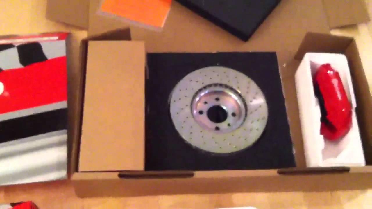 Fiat 500 Abarth Brembo Break Kit Youtube