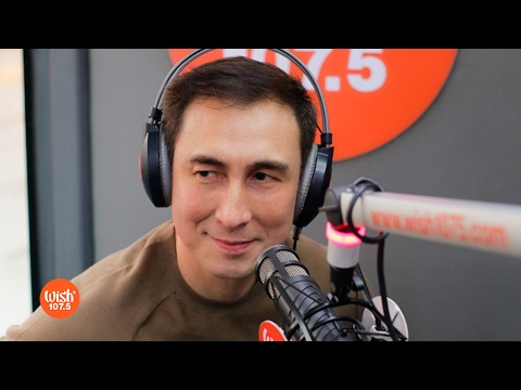 "Gino Padilla performs ""Closer You and I"" LIVE on Wish 107.5 Bus"