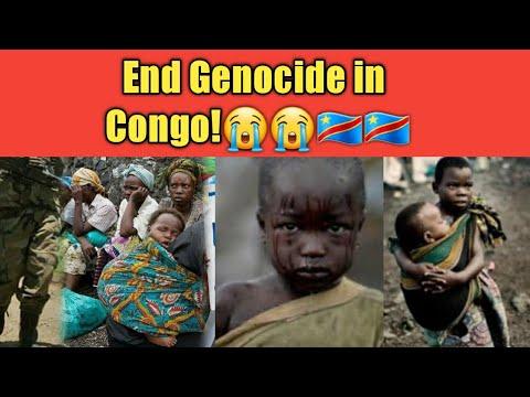 Congo is bleeding😭💔  End genocide in Congo DRC😭😥