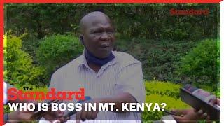 Muriithi Kang\'ara tells Candidates seeking votes from Mt Kenya must go through President Uhuru