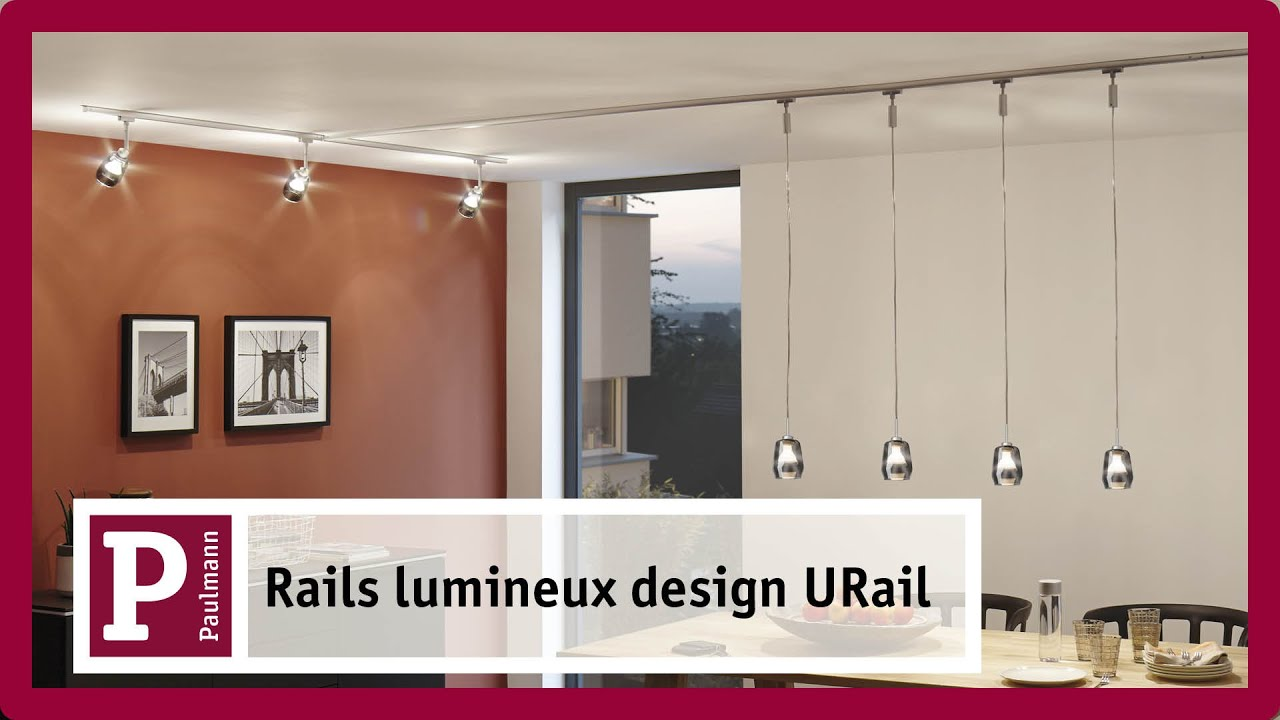r partir sur un rail lumineux urail les projecteurs et. Black Bedroom Furniture Sets. Home Design Ideas