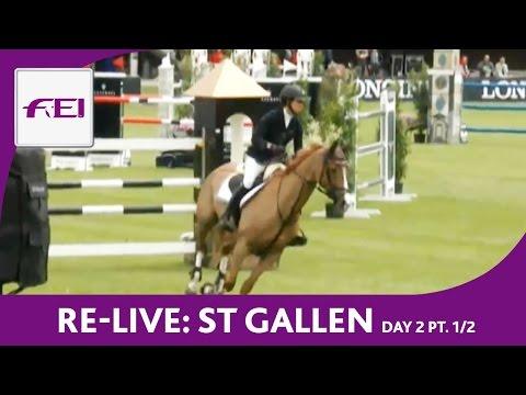 Bild: Reitsport LIVE - Longines CSIO St. Gallen - Day 2 Part 1/2