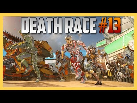 Death Race #13 - Run Or Die On RUMBLE! (Call of Duty Black Ops 3) Custom Minigame Gameplay | Swiftor