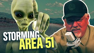 Download Will the military use force if thousands raid Area 51? Mp3