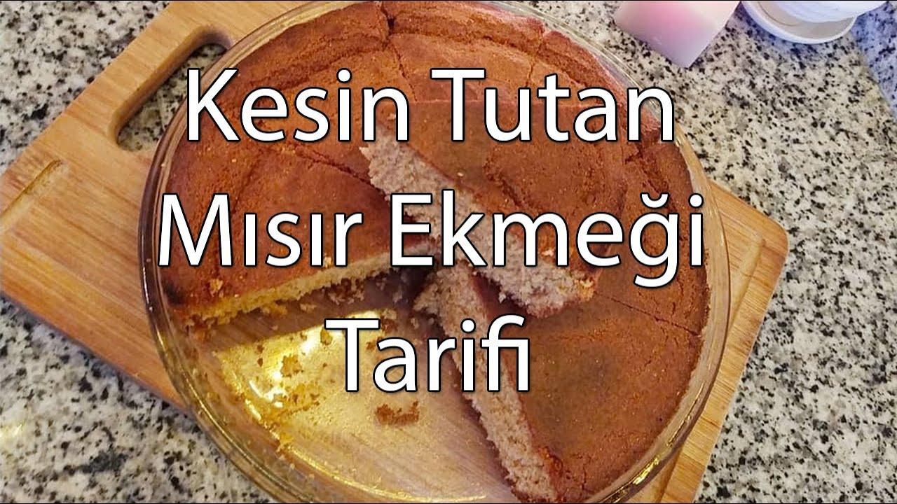 Kesin Tutan Mısır Ekmeği Tarifi