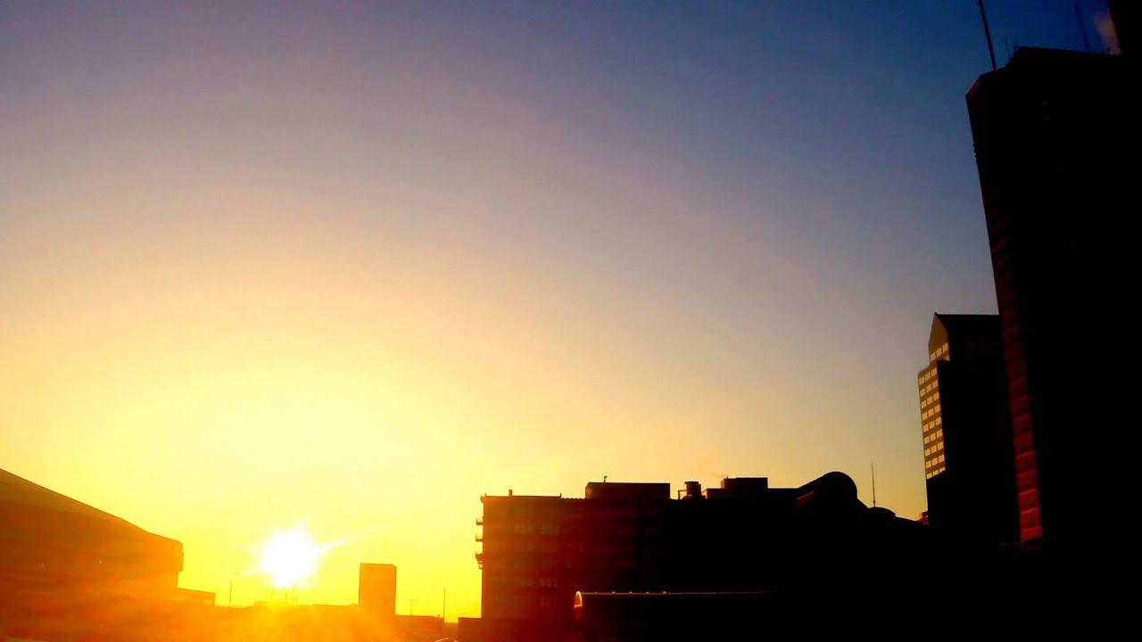 Saint Louis Mo Sunrise Time Lapse Video Youtube