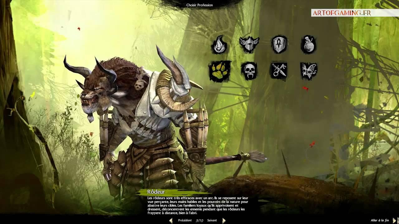 Guild wars 2 races presentation