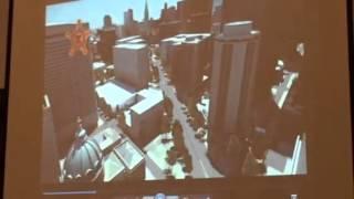 Simulation of Pope security zone in Philadelphia I