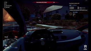 trying to drift a car in Thief Simulator