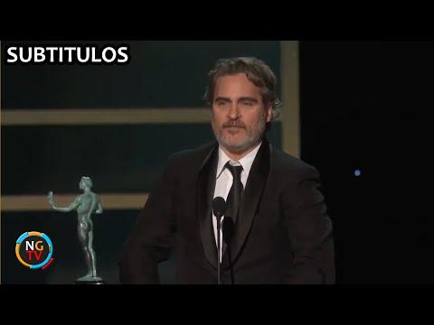 """Joaquín Phoenix: """"Estou aquí grazas ao meu actor favorito, Heath Ledger"""""""