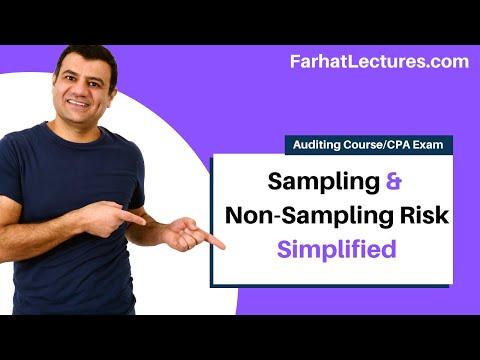 Audit Sampling: Sampling And Non-Sampling Risk | Auditing And Attestation | CPA Exam