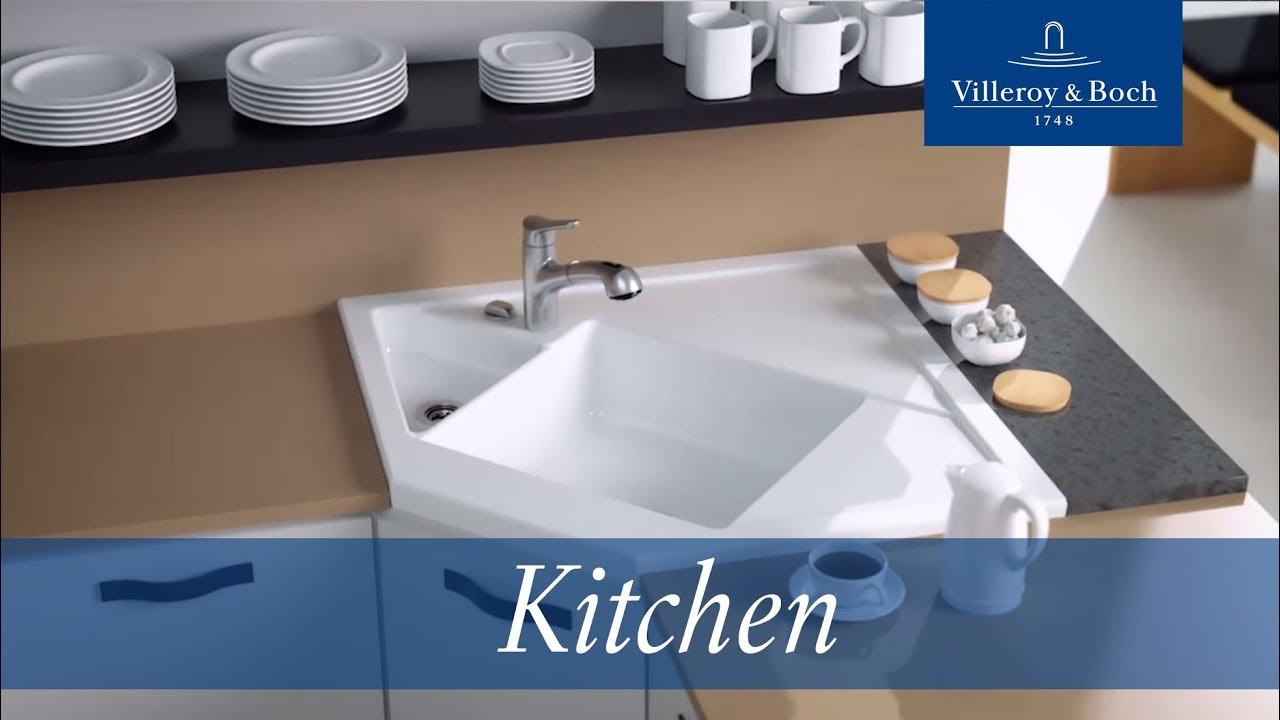 Installation Module Corner Sink Villeroy Boch