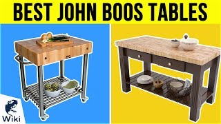 10 Best John Boos Tables 2019