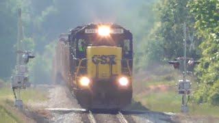 [0S] Heavy Metal on Rails: CSX Trains Go Through Athens GA, 05/01/2015 ©mbmars01