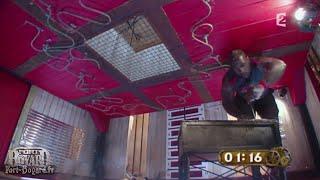 Fort Boyard 2011 - Teddy Riner dans la cellule qui rétrécit