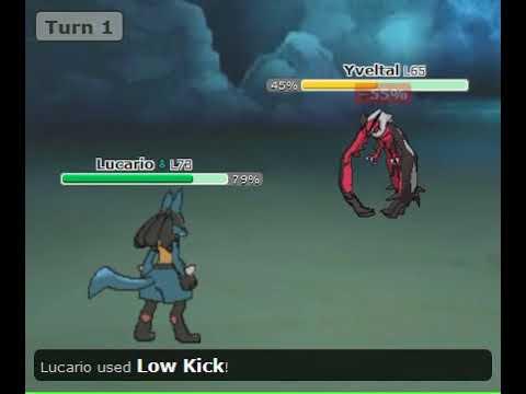 Lucario Pokemon Showdown