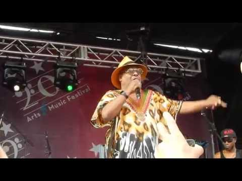 George Clinton and P Funk perform Mathematics Of Love at the DC Arts & Music Fest 2016