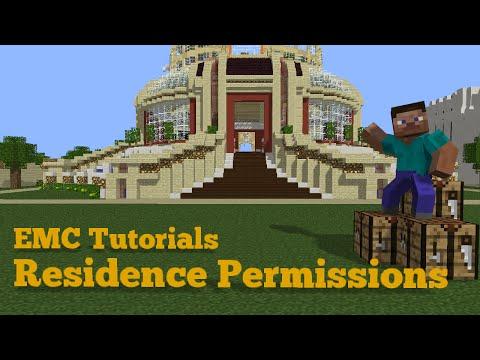 Empire Minecraft Tutorials: Residence Permissions