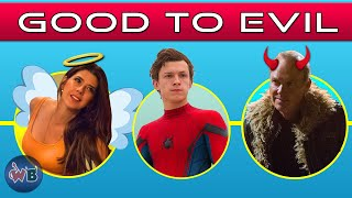 Spider-Man Characters: Good to Evil (MCU)
