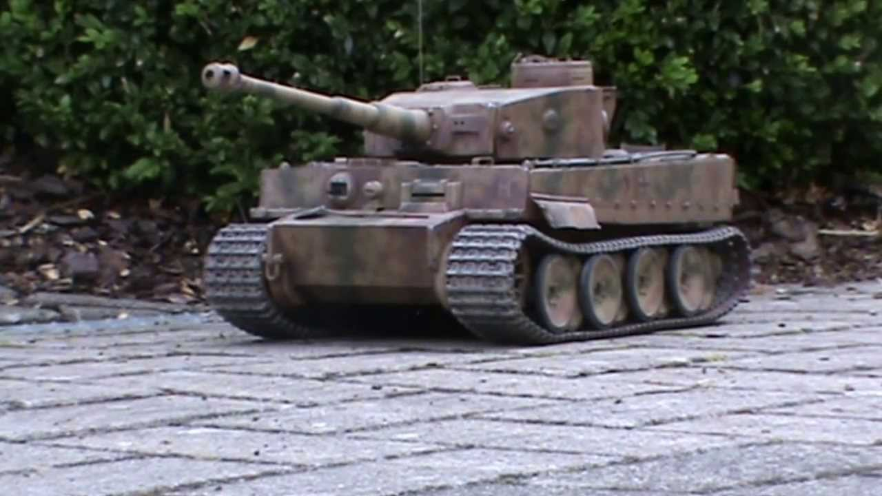 1 16 rc tamiya tiger i panzer tank youtube. Black Bedroom Furniture Sets. Home Design Ideas