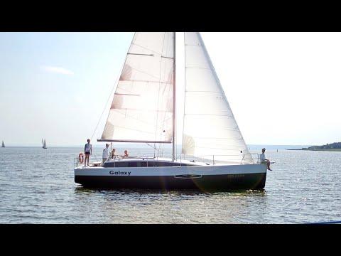 Пара строит Парусную Яхту Своими Руками - MY GALAXY смотреть онлайн в hd качестве - VIDEOOO