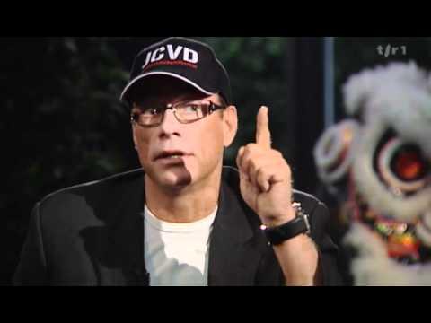 Interview de l'acteur de films de combat Jean-Claude Van Damme