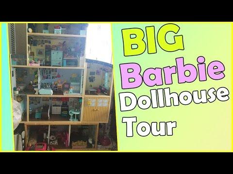 Big Barbie Dollhouse Tour! | 2016