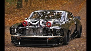 FORD MUSTANG POWER - MUSCLE CARS Compilation 2018