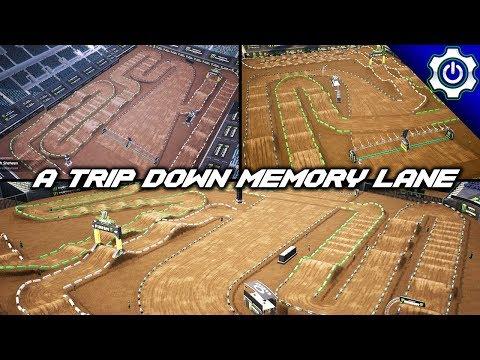 Monster Energy Supercross - 2009 A1, Jacksonville & Salt Lake City Gameplay