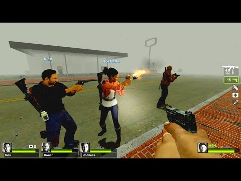 Left 4 Dead 2 - Silent Hill: Otherside of Life Campaign Multiplayer Gameplay Playthrough