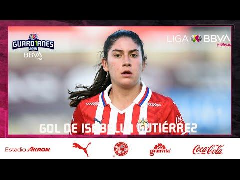 Chivas [2] - 2 Club America - isabella Gutierrez 84' (2-3 on aggregate) [Liga MX Femenil Apertura 2020 Quarter-Finals]