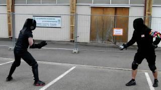 Andreas vs Scott in Saber at Dijon 2010