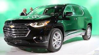 2018 Chevrolet Traverse - 2017 Detroit Auto Show