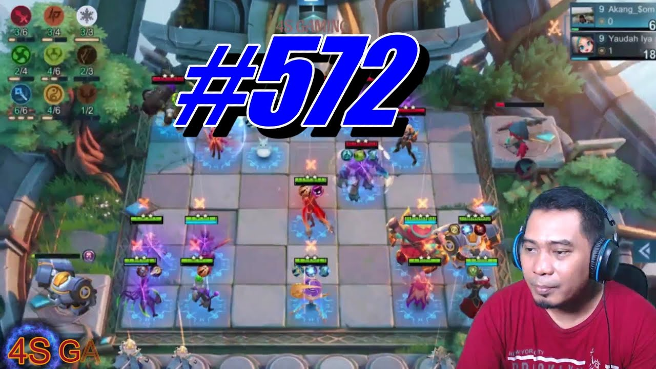 #572    TOP 1 MAGIC CHESS S5    MYTHIC PRO