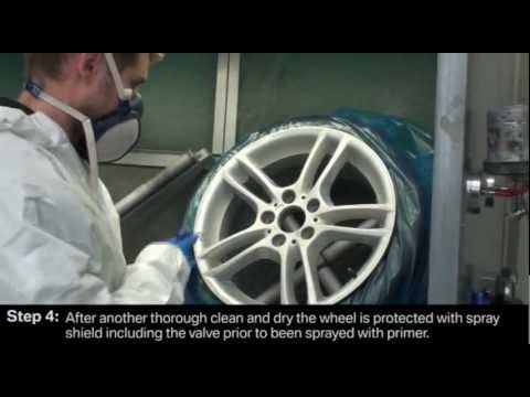 Sandal Alloy Wheel Refurbishment
